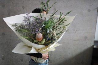 dried flower bouquet L