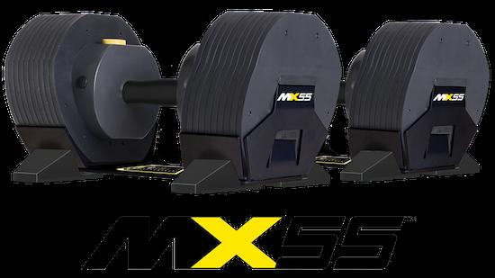 【配送は10月上旬予定】MX55 重量調整ダンベル *商標申請中