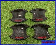 ハイラックス HILUX ドアカバー 高品質カーボンカラー 簡単貼り付け gun125
