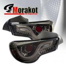 86 BRZ スモークテールライト モラコットレーシング  LEDファイバー 外装 zn6 zc6  カスタム