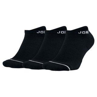 JORDAN(ジョーダン) SX5546 メンズ バスケットソックス ジャンプマン 3Pノーショウ 3足セット アンクル