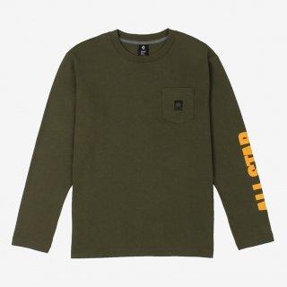 CONVERSE(コンバース) CA292322L クルーネックロングスリーブTシャツ メンズ レディース バスケットウェア Tシャツ