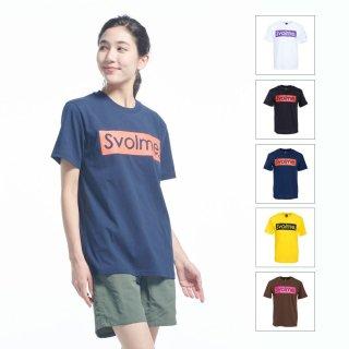 SVOLME(スボルメ) 1201-46500 BOXロゴDRY T メンズ レディース Tシャツ スポーツウェア