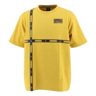 CONVERSE(コンバース) CA201375 クルーネック ラインテープ Tシャツ アスレチック アクティブウェア スポーツウェア
