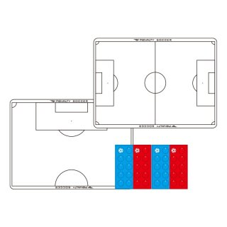 PENALTY(ペナルティ) PE9407 サッカーA4作戦盤 サッカー サッカーアクセサリー