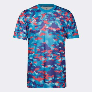 adidas(アディダス) BQ382 レアル・マドリード プレマッチ ジャージー サッカーウェア サッカーシャツ