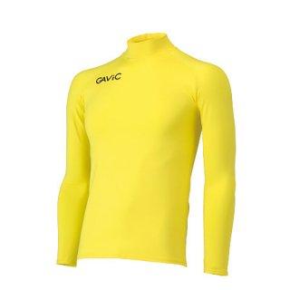 GAVIC(ガヴィック) GA8301 長袖コンプレッションシャツ サッカー フットサルウェア イエロー