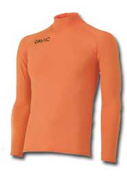 GAVIC(ガヴィック) GA8301 長袖コンプレッションシャツ サッカー フットサルウェア オレンジ