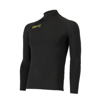 GAVIC(ガヴィック) GA8301 長袖コンプレッションシャツ サッカー フットサルウェア ブラック