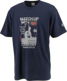 CONVERSE(コンバース) CB212360 メンズ プリントTシャツ バスケット プラクティスウェア トレーニングシャツ