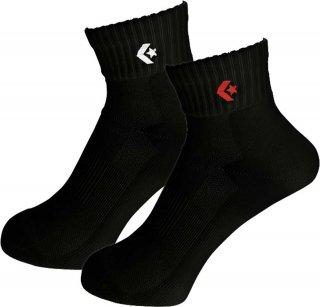 CONVERSE(コンバース) CB16006P 0F_2Pニューアンクルソックス メンズ レディース ジュニア バスケット 靴下