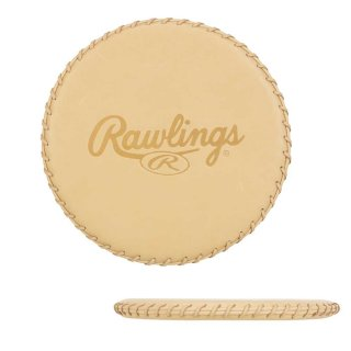 Rawlings(ローリングス) EAC8F09 グラブ型付けマット 持ち運び可能 野球グローブマット キャメル