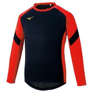MIZUNO(ミズノ) P2MA1501 モレリア ブレスサーモフィールドシャツ サッカー プラクティスウェア