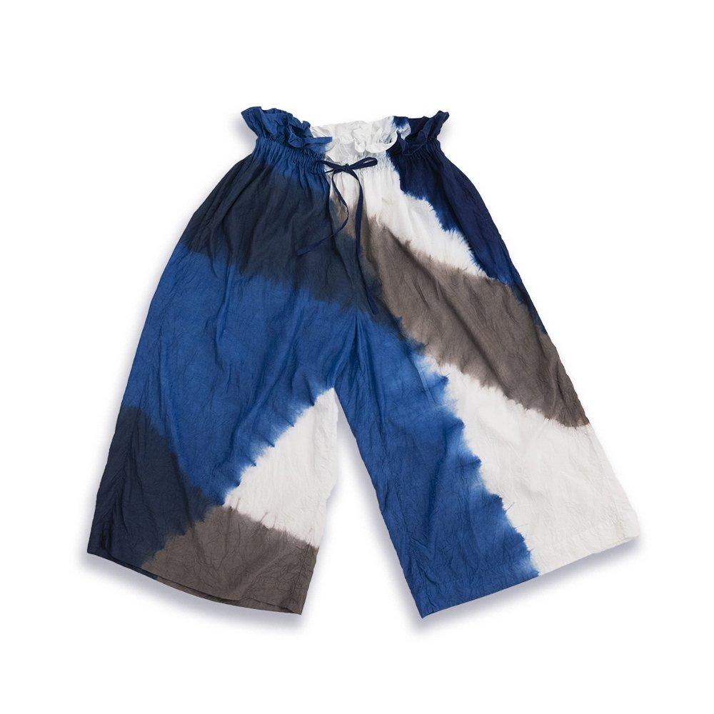 KAKU Pants 3Tone Shibori