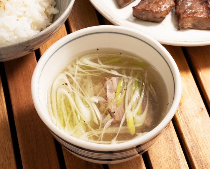 閣の特製テールスープ(2人前・500g)