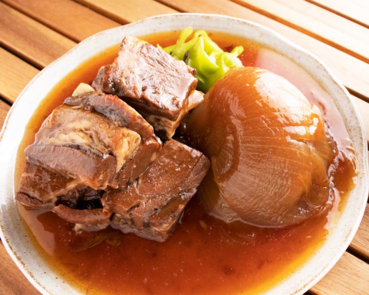 【新発売】 玉ねぎと牛たんの柔らか角煮(550g・2〜3人前)