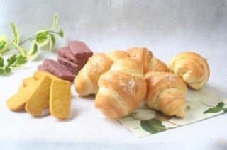 カラマツベーカリーセット 【送料無料】(塩パン5個+ヴィーガンビスケット2袋)