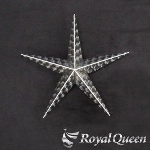 【送料無料】新型 星型 ホイールスピンナー ウロコ柄 22.5インチ