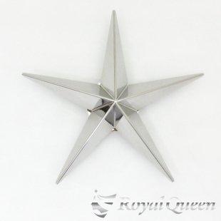 【送料無料】新型 星型 ホイール スピンナー #1000 鏡面 19.5インチ 3穴4穴兼用