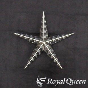 【送料無料】新型 星型 ホイール スピンナー ウロコ柄 17.5インチ