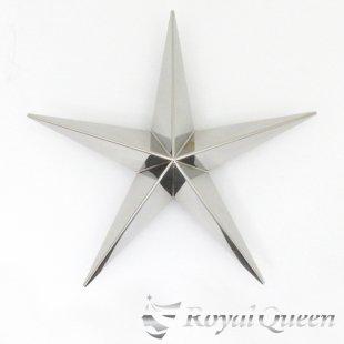 【送料無料】新型 星型 ホイール スピンナー #1000 鏡面 22.5インチ