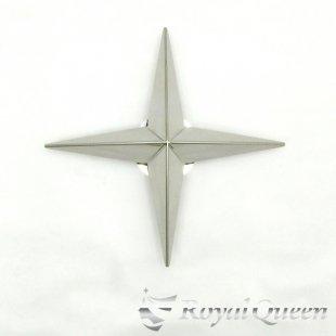 【送料無料】新型 十字型 ホイール スピンナー #1000 鏡面 17.5インチ