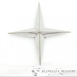 【送料無料】新型 十字型 ホイール スピンナー #1000 鏡面 22.5インチ