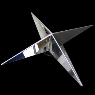 【送料無料】十字型 ホイール スピンナー #1000 鏡面 19.5インチ 3穴