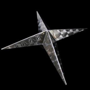 【送料無料】十字型 ホイール スピンナー ウロコ柄 17.5インチ
