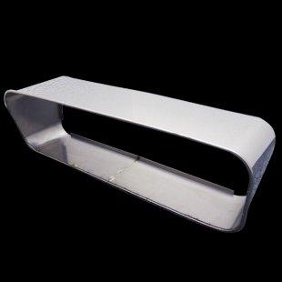 【送料無料】 アンドンバイザー アンドンカバー アルナ・JB中用(650×200) 鏡面 丸棒5mm巻