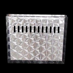 【送料無料】ハイゼット用 バッテリーカバー ステンレス ウロコ柄