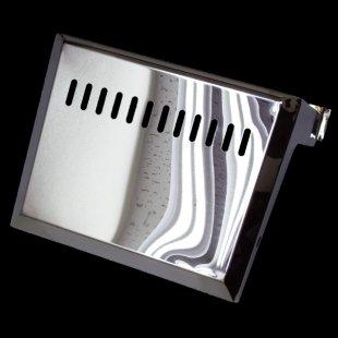 【送料無料】ハイゼット用 バッテリーカバー ステンレス 鏡面 #1000