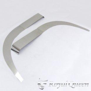 【送料無料】日野 新型 17 プロフィア(H29.6〜) フェンダーパネル 4点セット 鏡面 磨き#1000 左右セット
