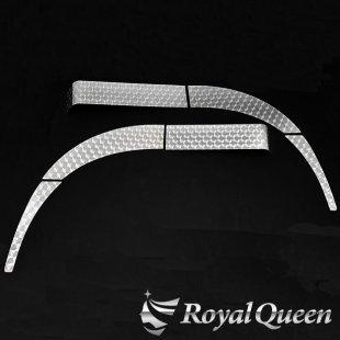【送料無料】日野 グランドプロフィア フェンダーパネル 6点セット ウロコ柄 左右セット