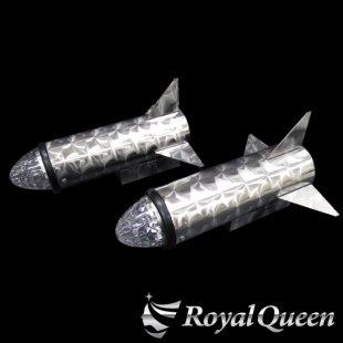 【送料無料】ロケットマーカー 310mm RM240 ウロコ柄 左右2本セット マーカー2個付き