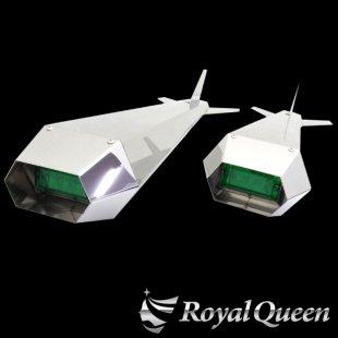 【送料無料】ロケットマーカー ナマズマーカー 鏡面 RM850 左右2本セット 全長850mm 磨き#1000
