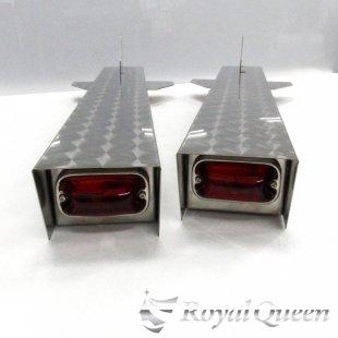 セール♪【送料無料】ロケットマーカー ウロコ柄 RM750S 左右2本セット 全長755mm