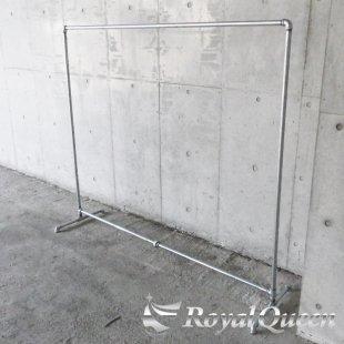 【大型商品】ガス管ハンガーラックキャスター付タイプB-2約W198cm×H163cm