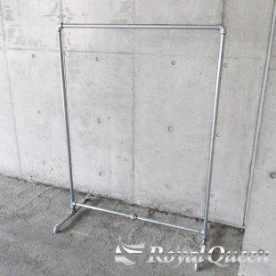 【大型商品】ガス管 ハンガーラック タイプC 約107cm×H142cm