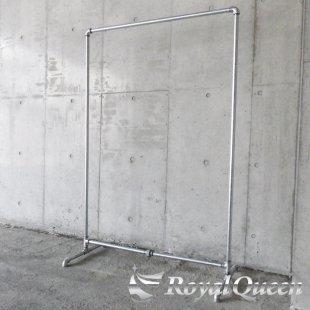 【大型商品】ガス管ハンガーラックキャスター付タイプD-2約W107cm×H163cm