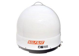 地デジ・BS110°CSオールインワンアンテナ SELFSAT DUAL