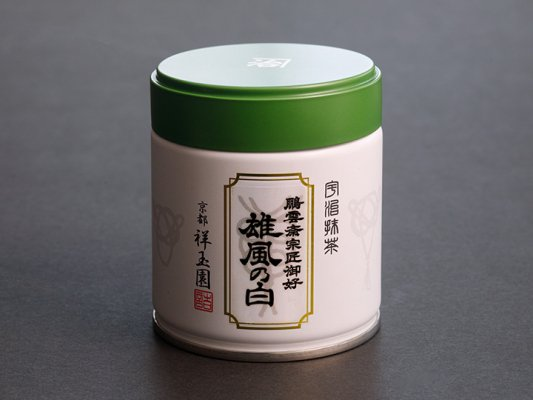 薄茶 雄風の白40g
