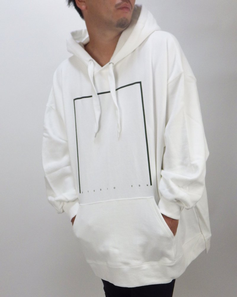 オーバーサイズ&ストリート『Re:one Online Store』「EDDEN」SQUARE OVER  HOODIE