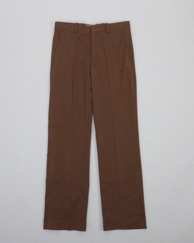 オーバーサイズ&ストリート『Re:one Online Store』Brown slim slacks