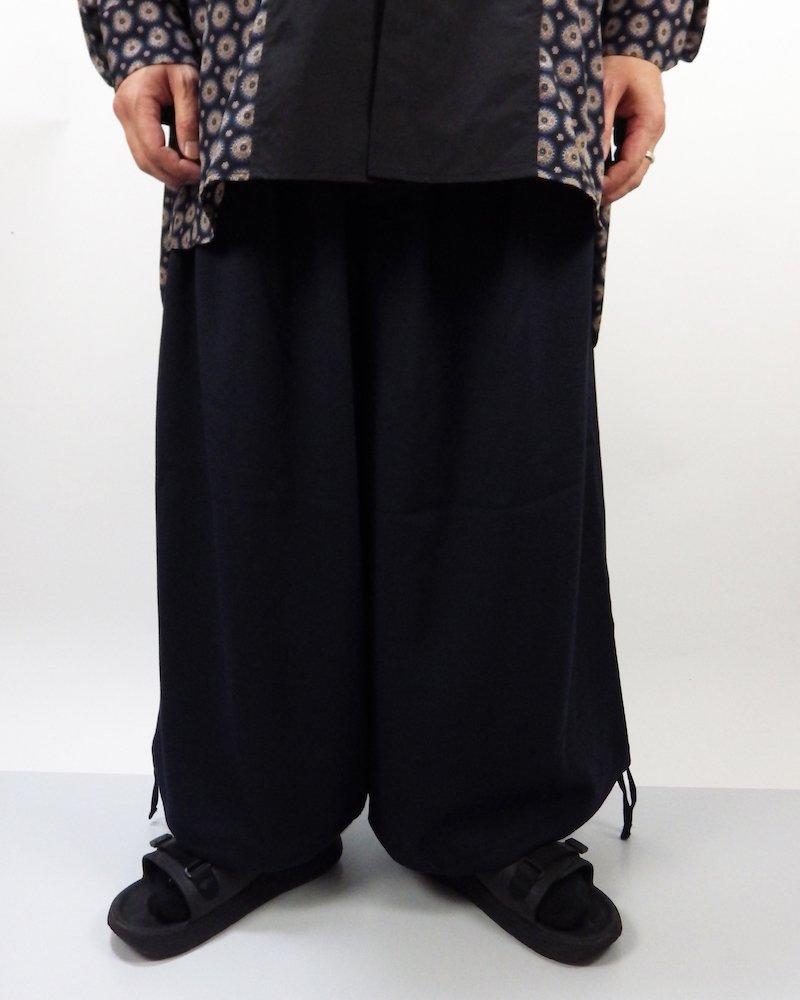 オーバーサイズ&ストリート『Re:one Online Store』Wide pants -NAVY-