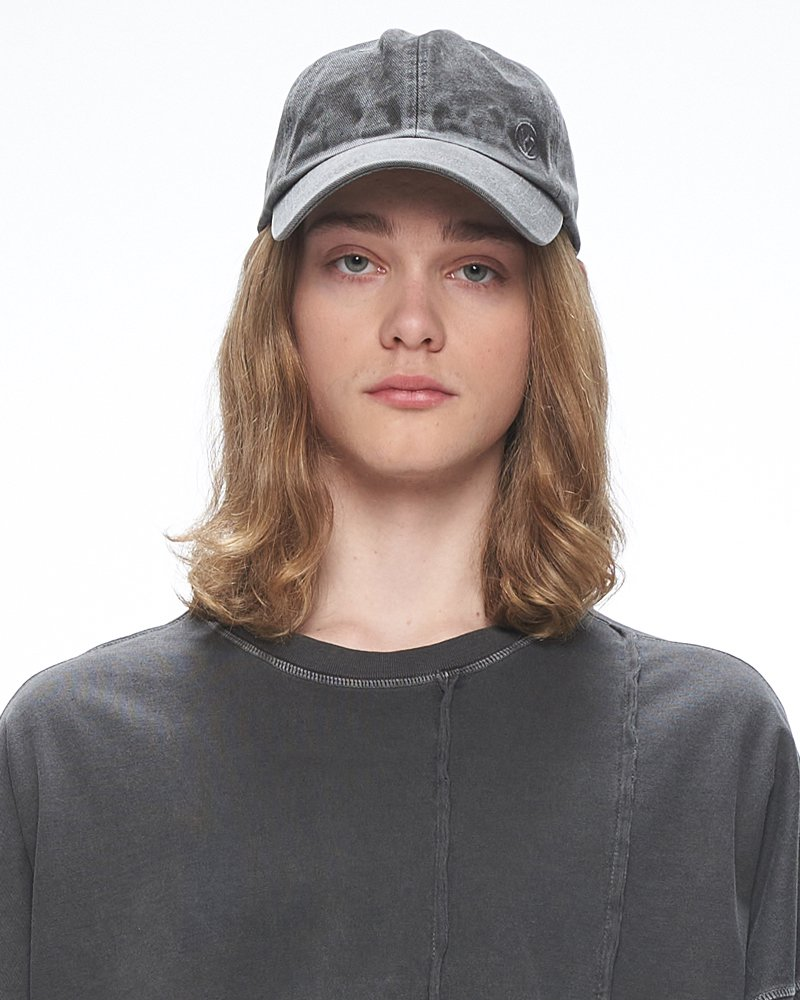 オーバーサイズ&ストリート『Re:one Online Store』「OVERR」PIGMENT GRAY BALLCAP