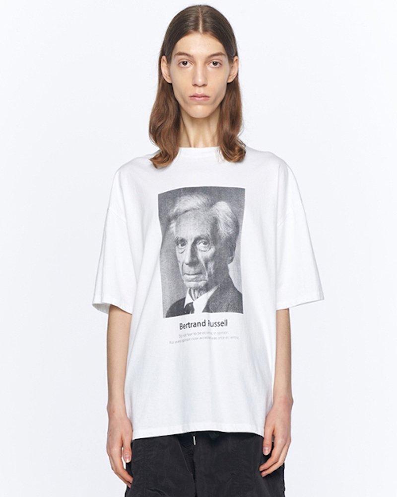 オーバーサイズ&ストリート『Re:one Online Store』「OVERR」RUSSELL WHITE T-SHIRTS