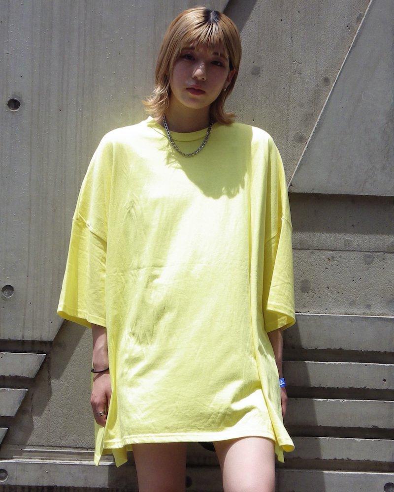オーバーサイズ&ストリート『Re:one Online Store』「NINE NUTS」Big yellow t-shirt