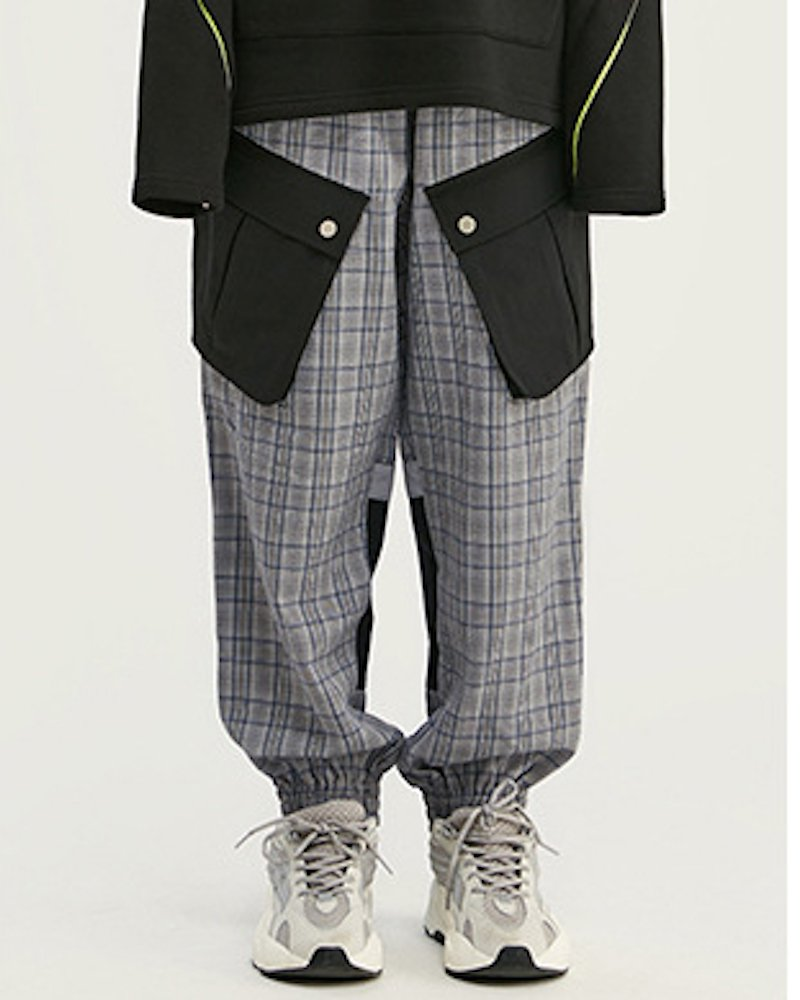 オーバーサイズ&ストリート『Re:one Online Store』「Re:select」Big pocket check pants