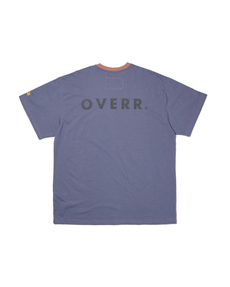 オーバーサイズ&ストリート『Re:one Online Store』「OVERR」OVR LOGO MULTI T-SHIRTS